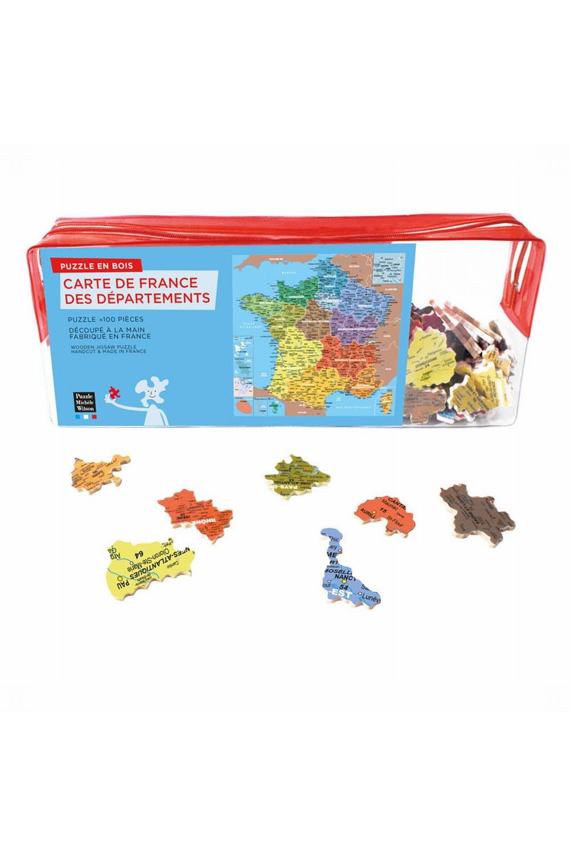 Carte De France Departement - tout Puzzle Departement