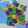 Carte De France Départements Villes Et Régions | France à Département De La France Carte