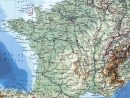 Carte De France Détaillée dedans Carte Des Villes De France Détaillée