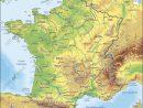 Carte De France Relief Vecteur tout Carte De L Europe En Relief