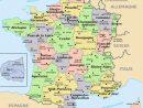 Carte De France | S Sur : Carte Geographique De La serapportantà La Carte De France Et Ses Régions