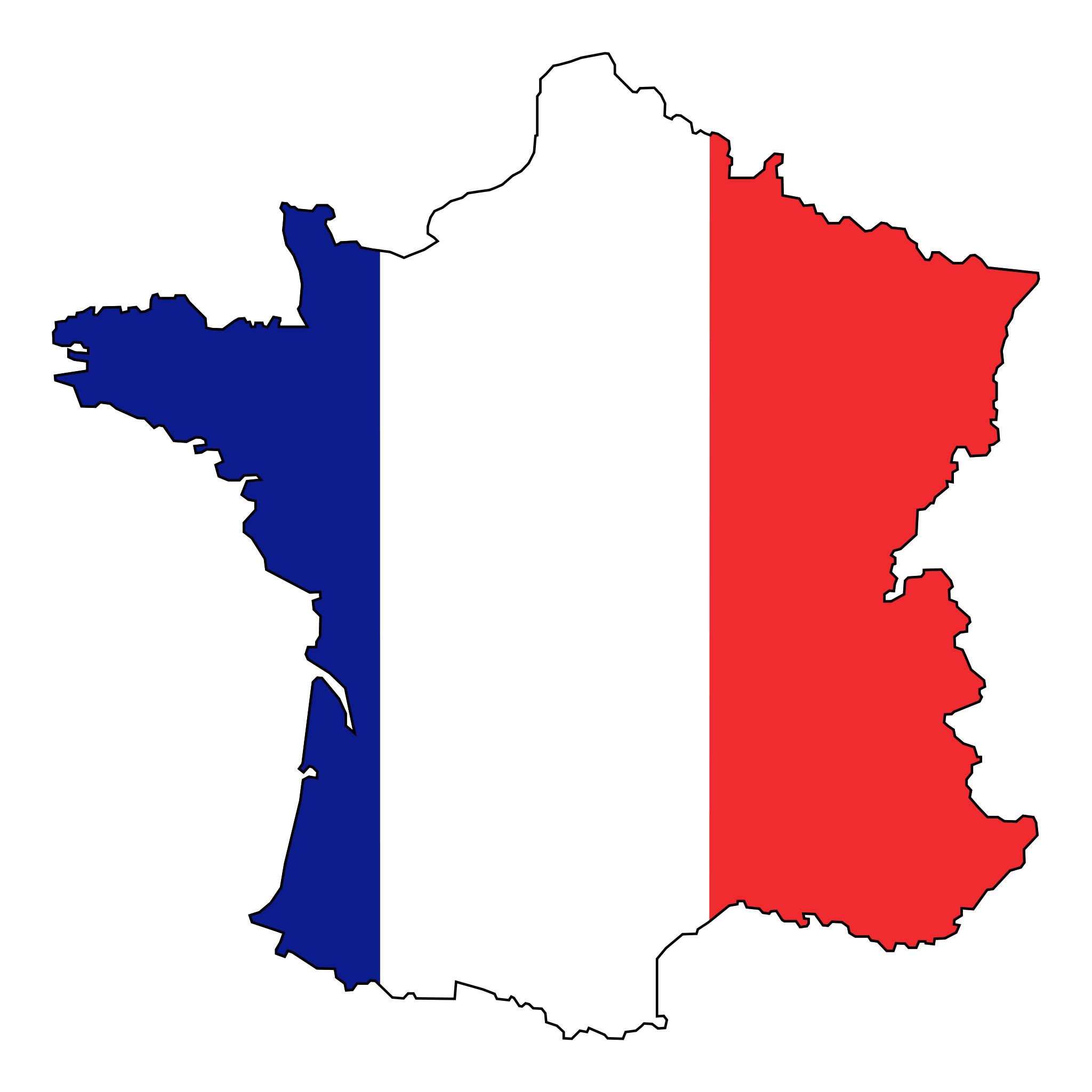 Carte De France Vierge Régions, Carte Vierge Des Régions De tout Carte Ile De France Vierge