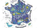 Carte De La France - Carte Des Dessins Animés. dedans Dessin De Carte De France
