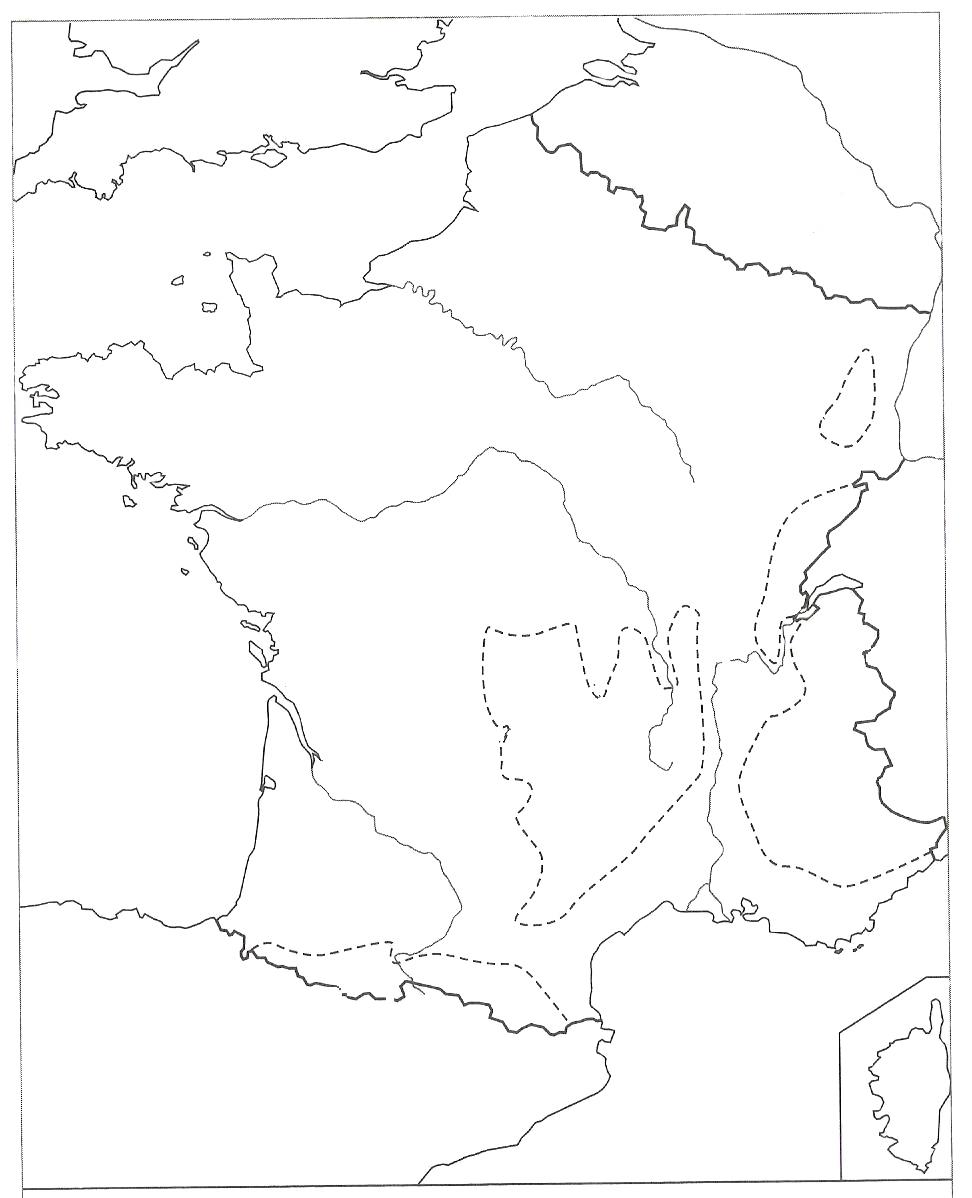 Carte De La France - Les Activités De Maman dedans Coloriage Carte De France