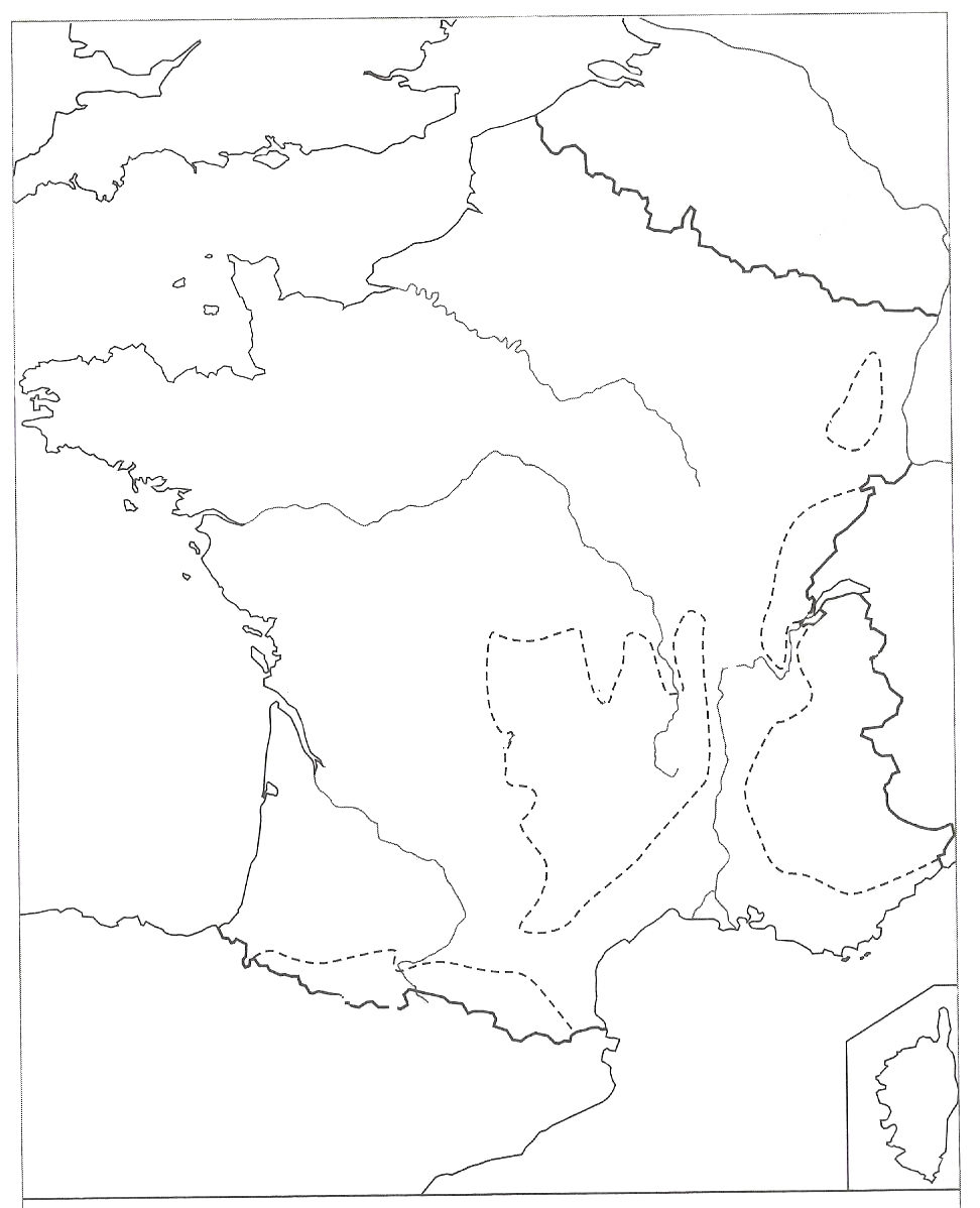 Carte De La France - Les Activités De Maman serapportantà Carte De France Avec Les Fleuves
