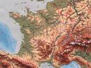 Carte De L'europe En Relief - Espace Nord Ouest avec Carte De L Europe En Relief