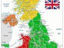 Carte De L'irlande Du Nord - Plusieurs Carte Du Pays (Villes à Carte Des Villes De France Détaillée