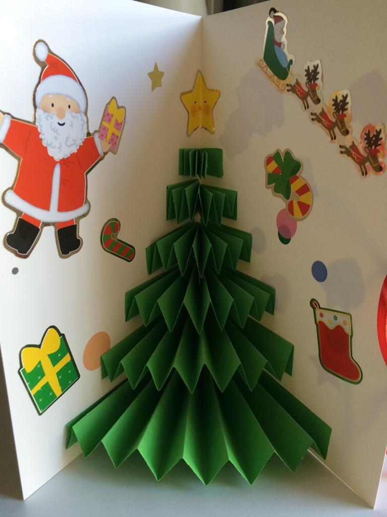 Carte De Noël Pop-Up Très Facile - Les Pious De Chatou à Cartes De Noel Maternelle