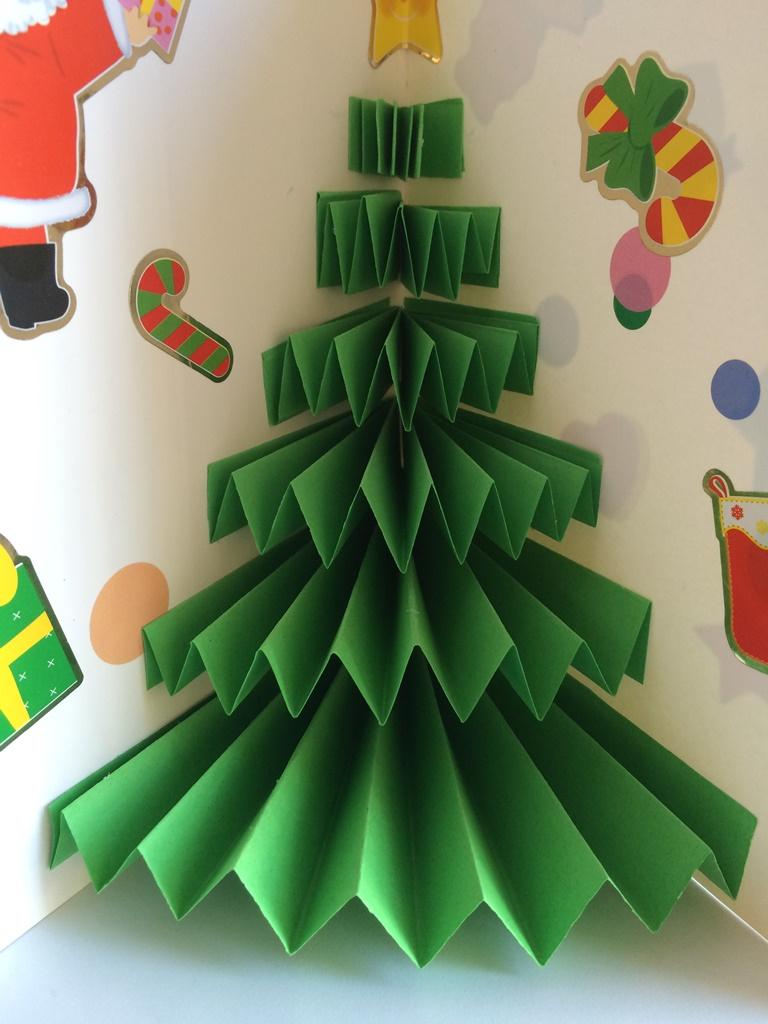 Carte De Noël Pop-Up Très Facile - Les Pious De Chatou tout Cartes De Noel Maternelle