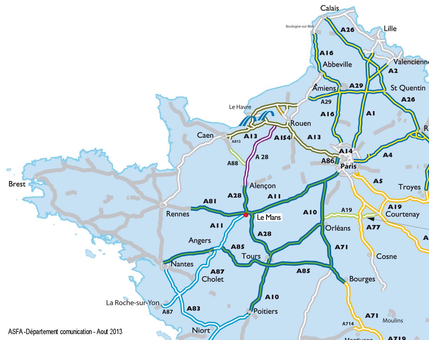 Carte Des Autoroute De France Gratuite | My Blog tout Carte Routiere France Gratuite