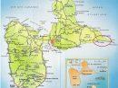 Carte Détaillée Guadeloupe | Guadeloupe Carte, Guadeloupe avec Carte Des Villes De France Détaillée