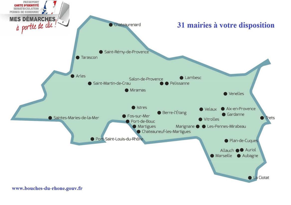 Carte D'identité : Vos Démarches Administratives Simplifiées dedans Carte Des Préfectures