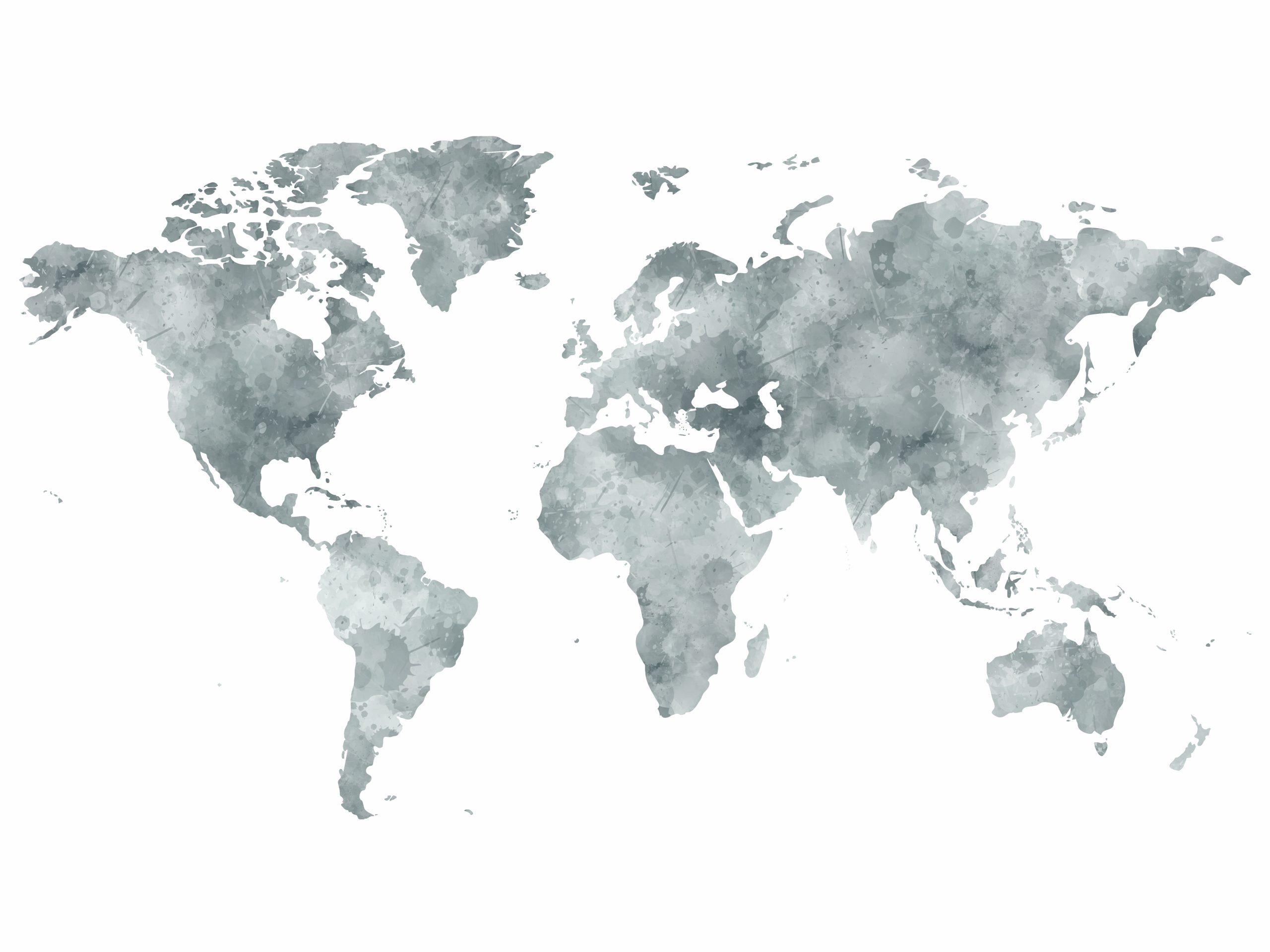 Carte Du Monde À Imprimer & Tuto Carte Du Monde Déco à Carte Du Monde À Compléter En Ligne
