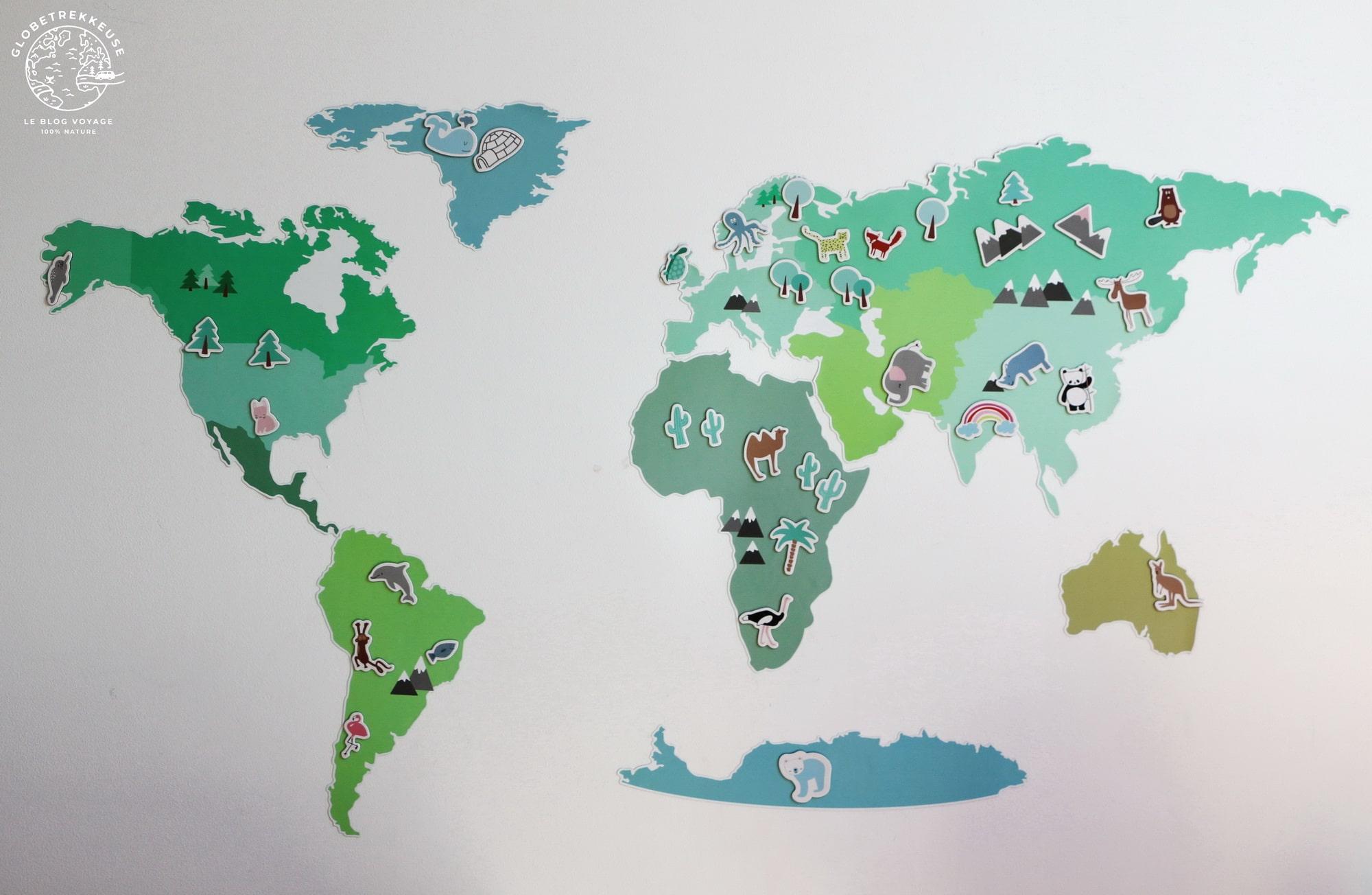 Carte Du Monde À Offrir : 6 Modèles Testés Et Approuvés ! - intérieur Carte Du Monde À Compléter En Ligne