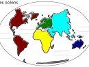 Carte Du Monde Avec Les Océans À Compléter à Carte Du Monde À Compléter En Ligne