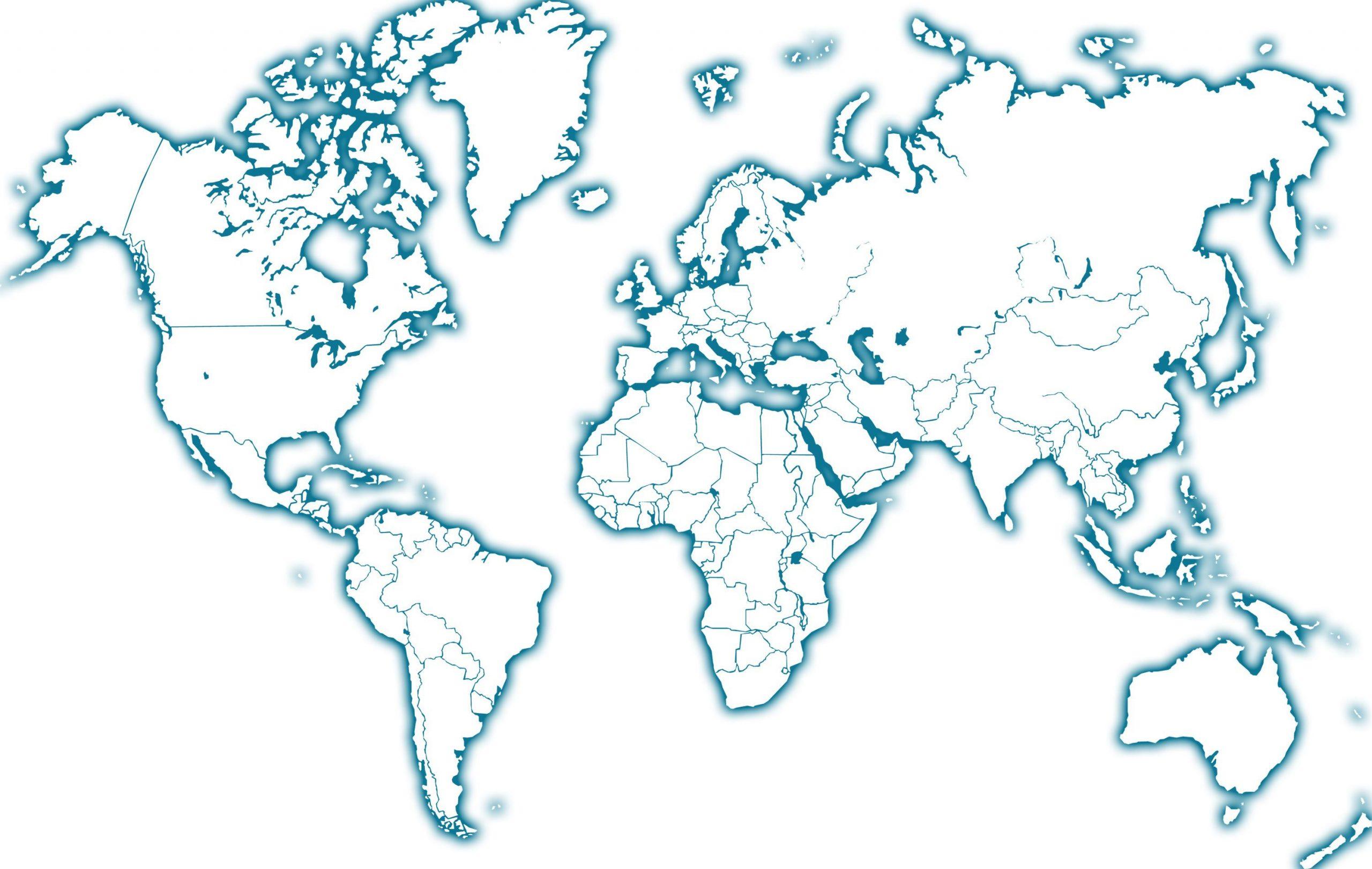 Carte Du Monde | Carte Monde Vierge, Carte Du Monde destiné Carte Du Monde À Compléter En Ligne