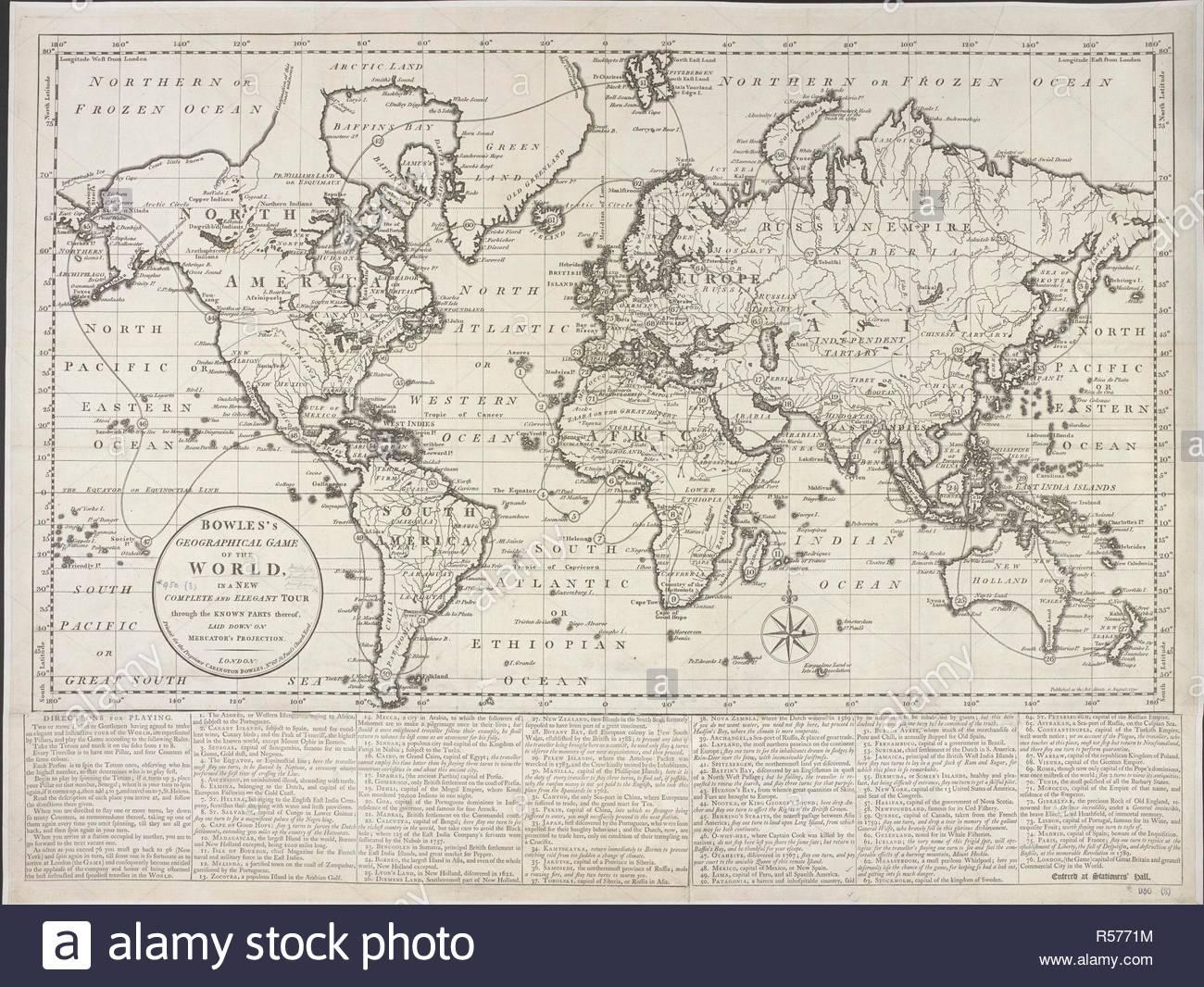 Carte Du Monde, Pour Les Besoins D'un Jeu. La Situation concernant Jeux De Carte Geographique Du Monde
