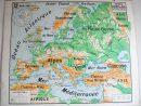 Carte Du Relief Européen | My Blog encequiconcerne Carte De L Europe En Relief