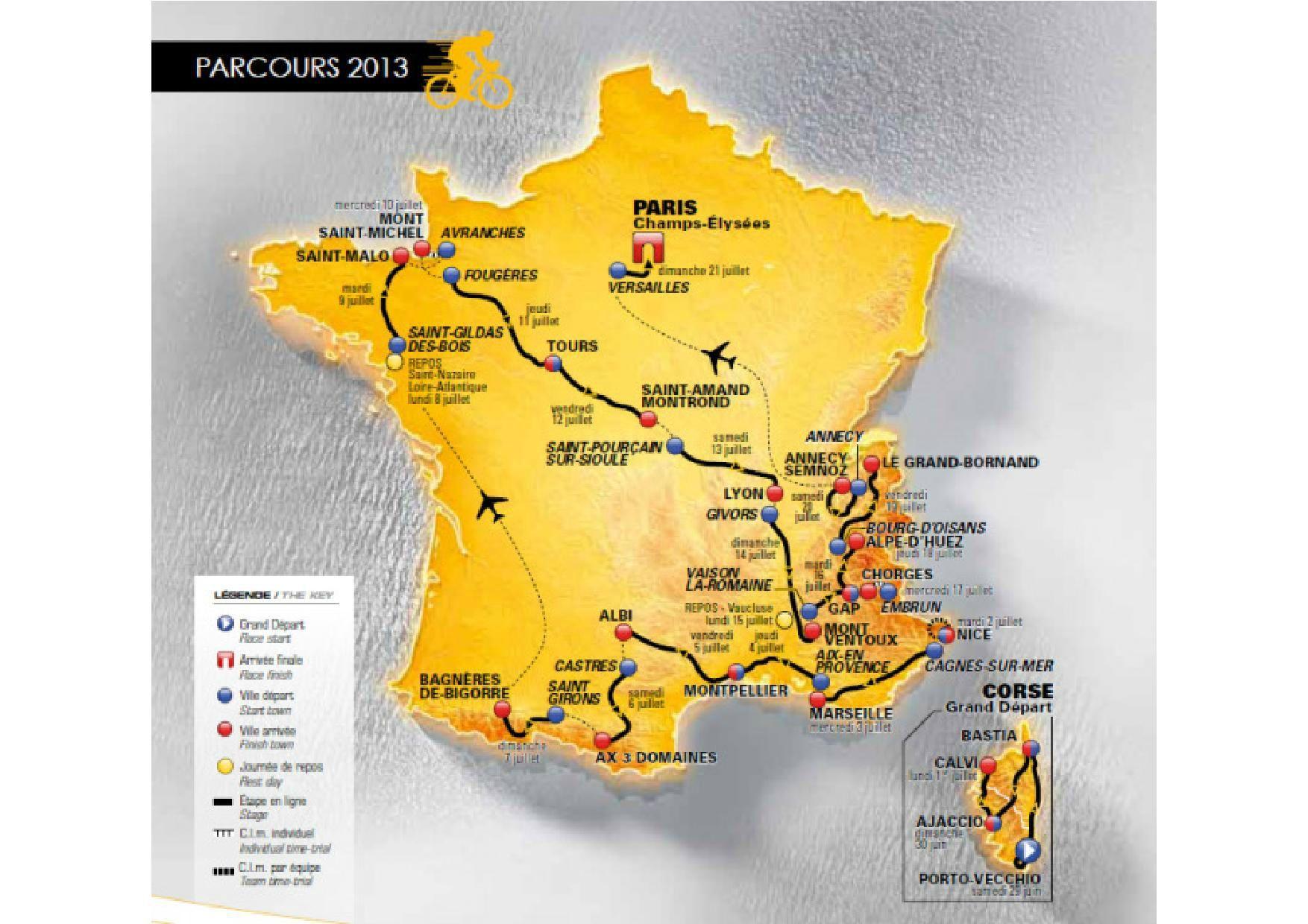 Carte Du Tour De France 2013 | Tour De France, Tours, France encequiconcerne Gap Sur La Carte De France