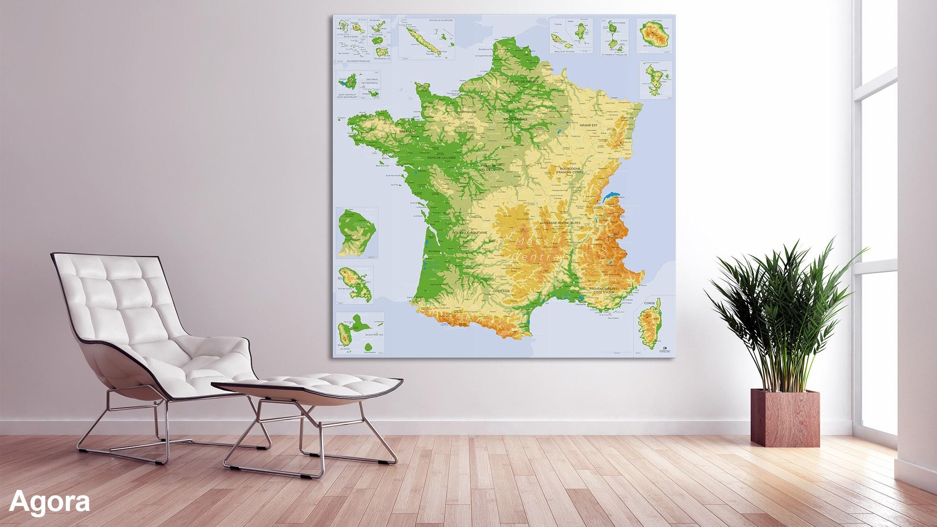 Carte France Détaillée encequiconcerne Acheter Carte De France
