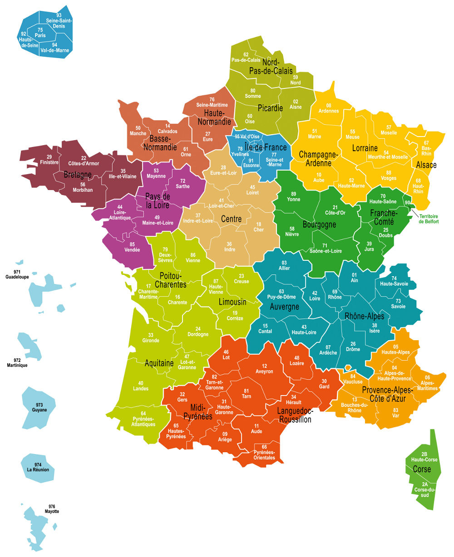 Carte France Et Quiz pour Gap Sur La Carte De France