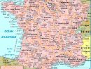 Carte France Villes : Carte Des Villes De France à Carte Des Villes De France Détaillée