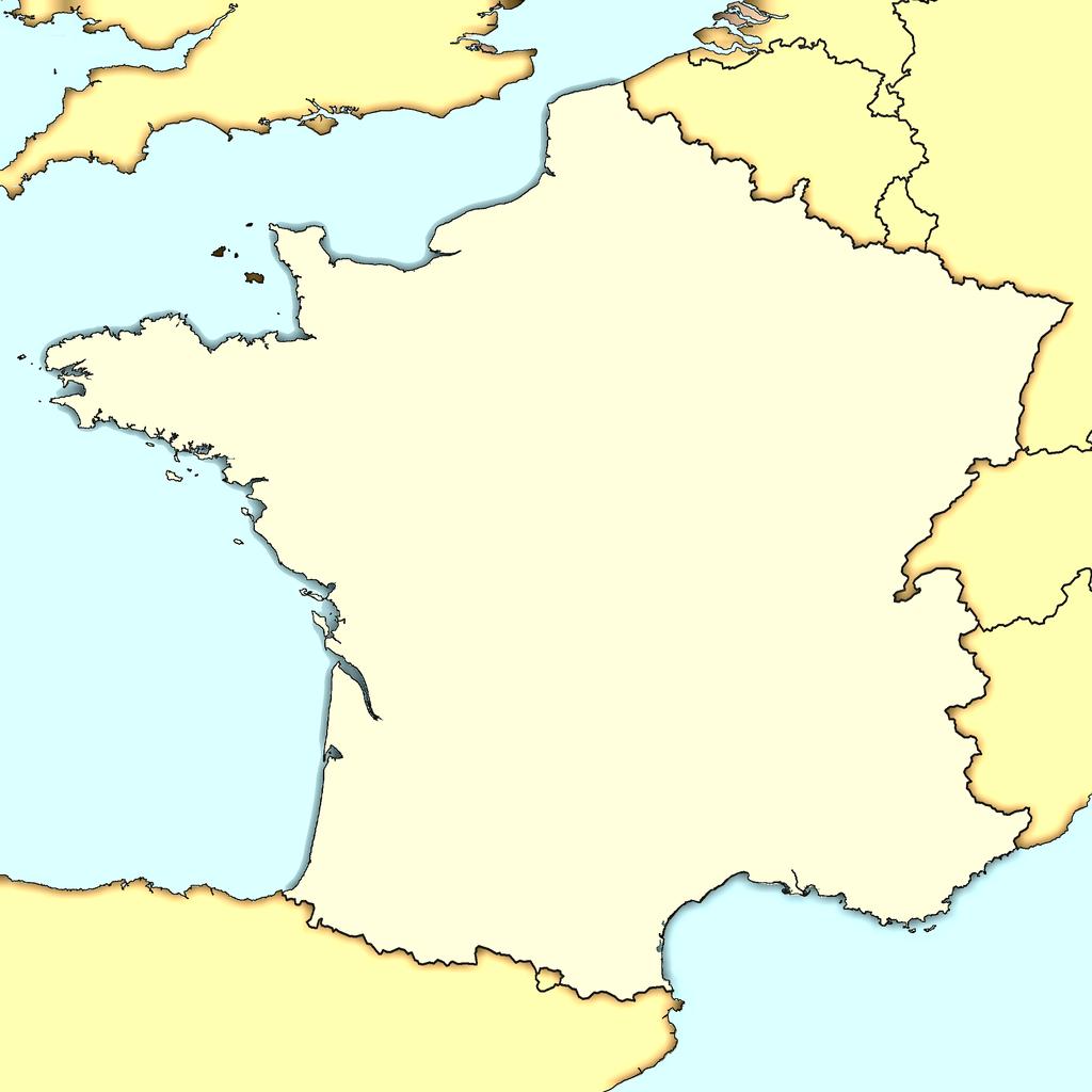 Carte France Villes : Carte Des Villes De France avec Carte De France Vierge A Imprimer