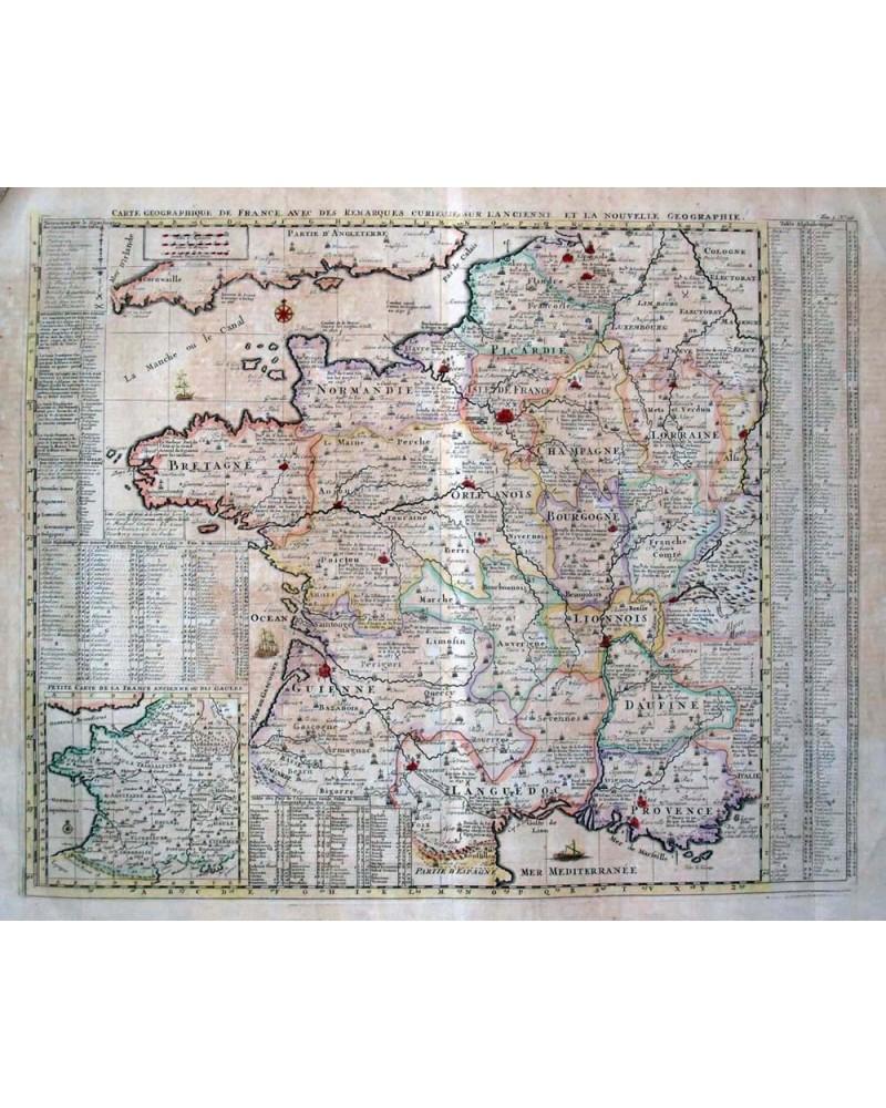 Carte Geographique De France intérieur Carte Géographique De France