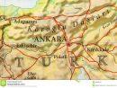 Carte Géographique De Pays Européen Turquie Avec La Capitale serapportantà Pays D Europe Et Capitales