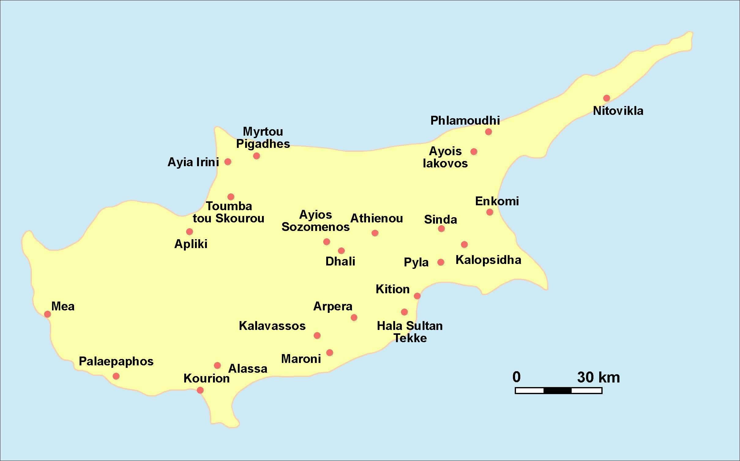 Carte Grande Villes Chypre, Carte Grande Villes De Chypre concernant Carte De La France Avec Les Grandes Villes