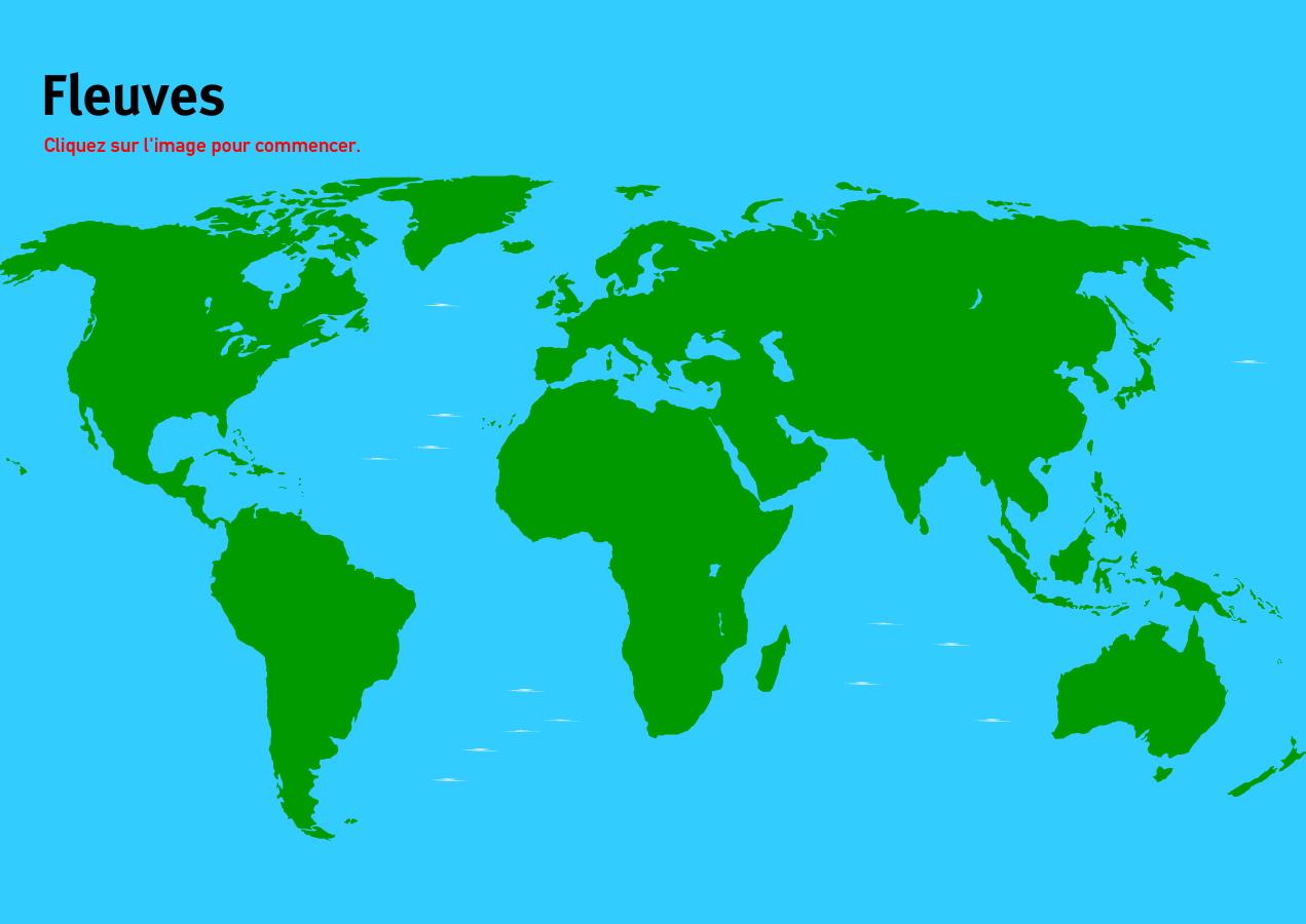 Carte Interactive Du Monde Fleuves Du Monde. Jeux De destiné Carte Des Fleuves