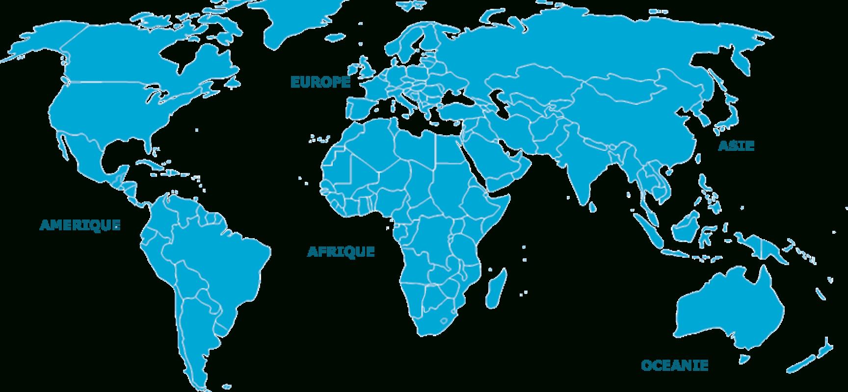 Carte. Le Tracé Des Frontières Dans Le Monde Depuis Plus De concernant Carte Du Monde En Ligne