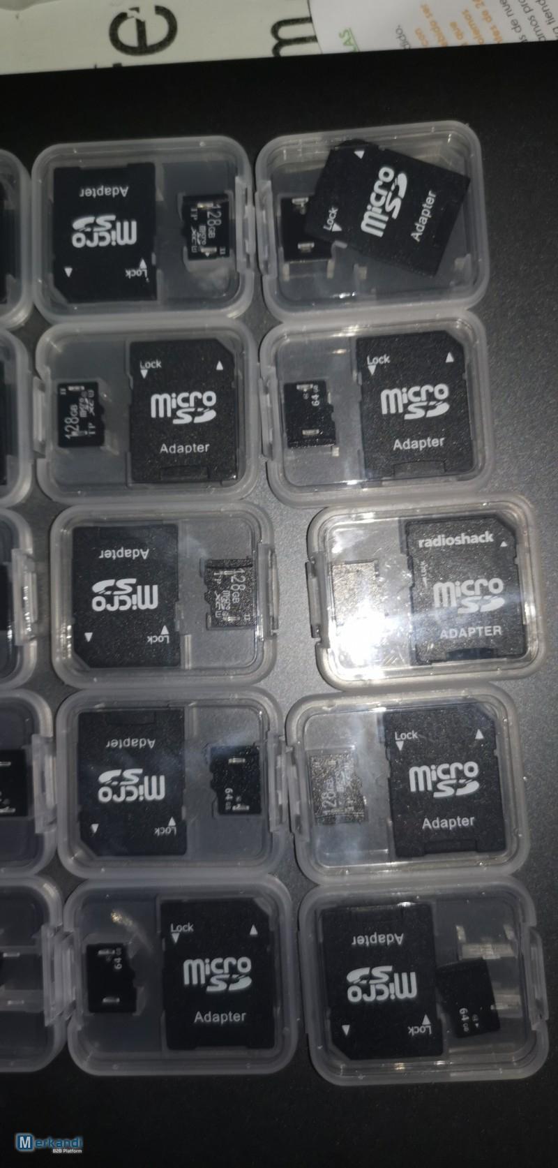 Carte Mémoire Micro Sd Et La Carte Mémoire De 64 Go / 128 Go dedans Carte Memoire Tablette