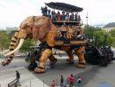 Carte Postale. Les Machines De L'île À Nantes serapportantà Barrissement Elephant