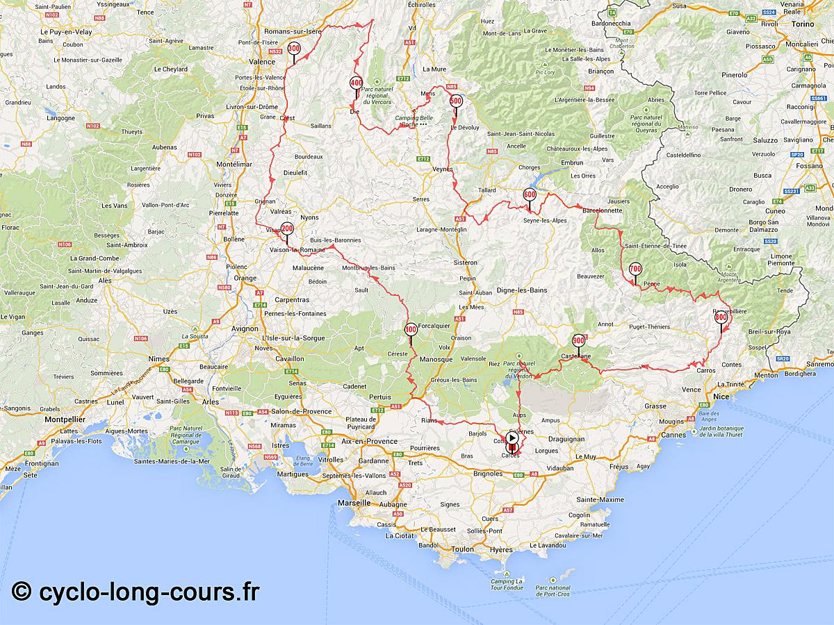 Carte Routiere Du Sud De La France Détaillée | My Blog avec Carte Du Sud De La France Détaillée
