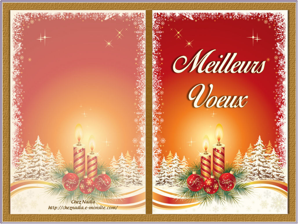 Carte Vierge Noel / Nouvelle An destiné Carte De Bonne Année Gratuite A Imprimer