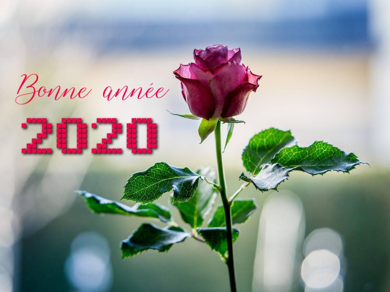 Cartes Bonne Année 2020 Gratuites - Message D'amour avec Carte Nouvel An Gratuite