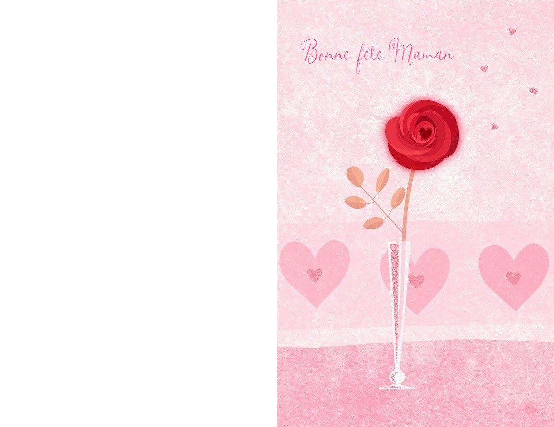 Cartes Bonne Fête Maman , À Imprimer ! - 1000 Idées À Faire destiné Carte Bonne Fete Maman A Imprimer