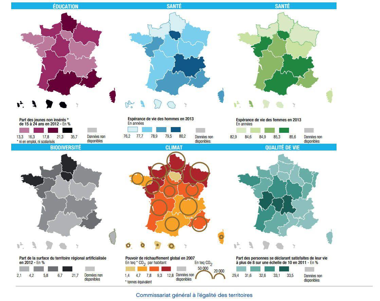 Cartes Comparatives Des Nouvelles Régions En France dedans France Nombre De Régions