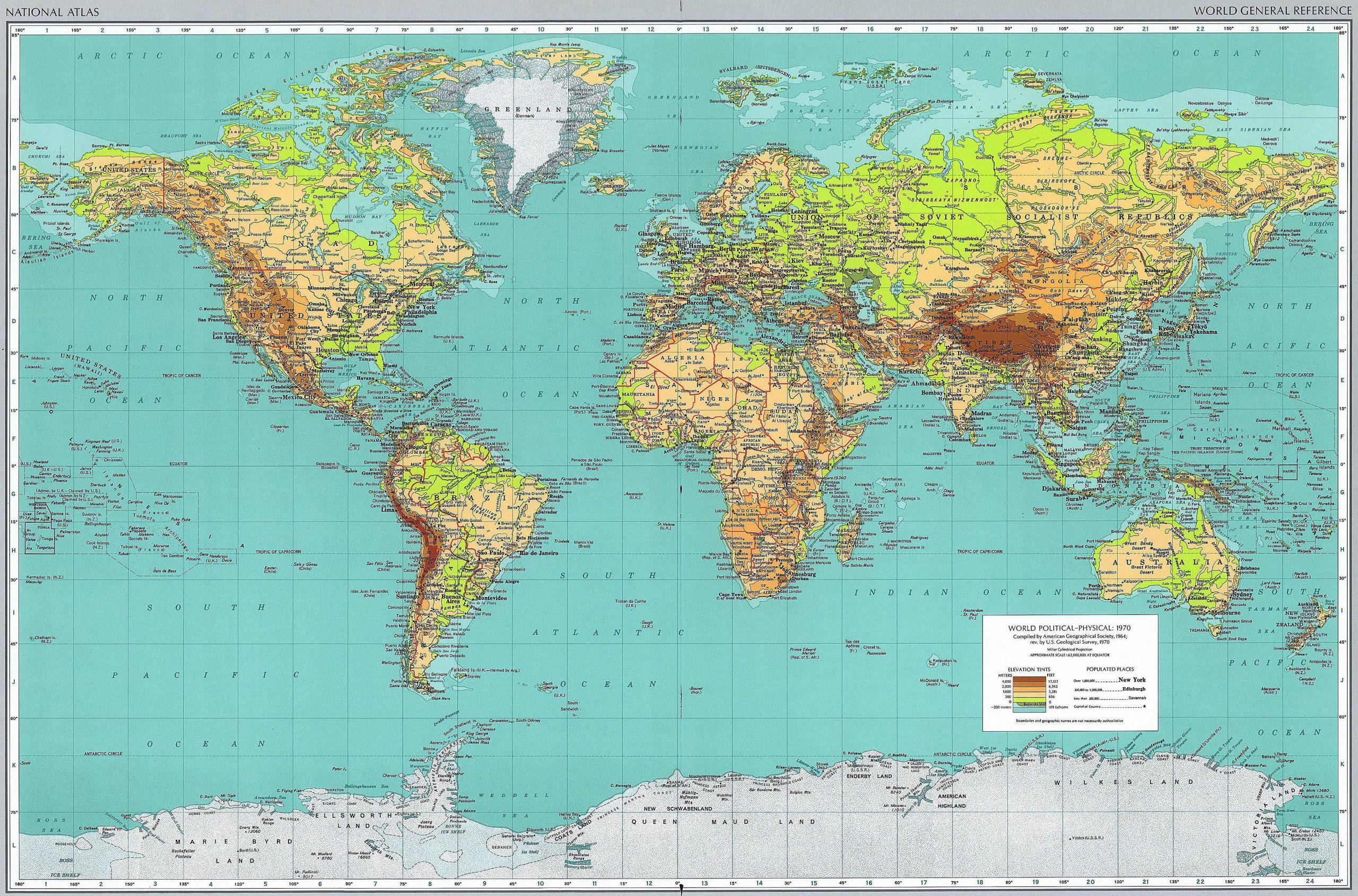 Cartes Du Monde encequiconcerne Carte Du Monde Avec Capitales Et Pays