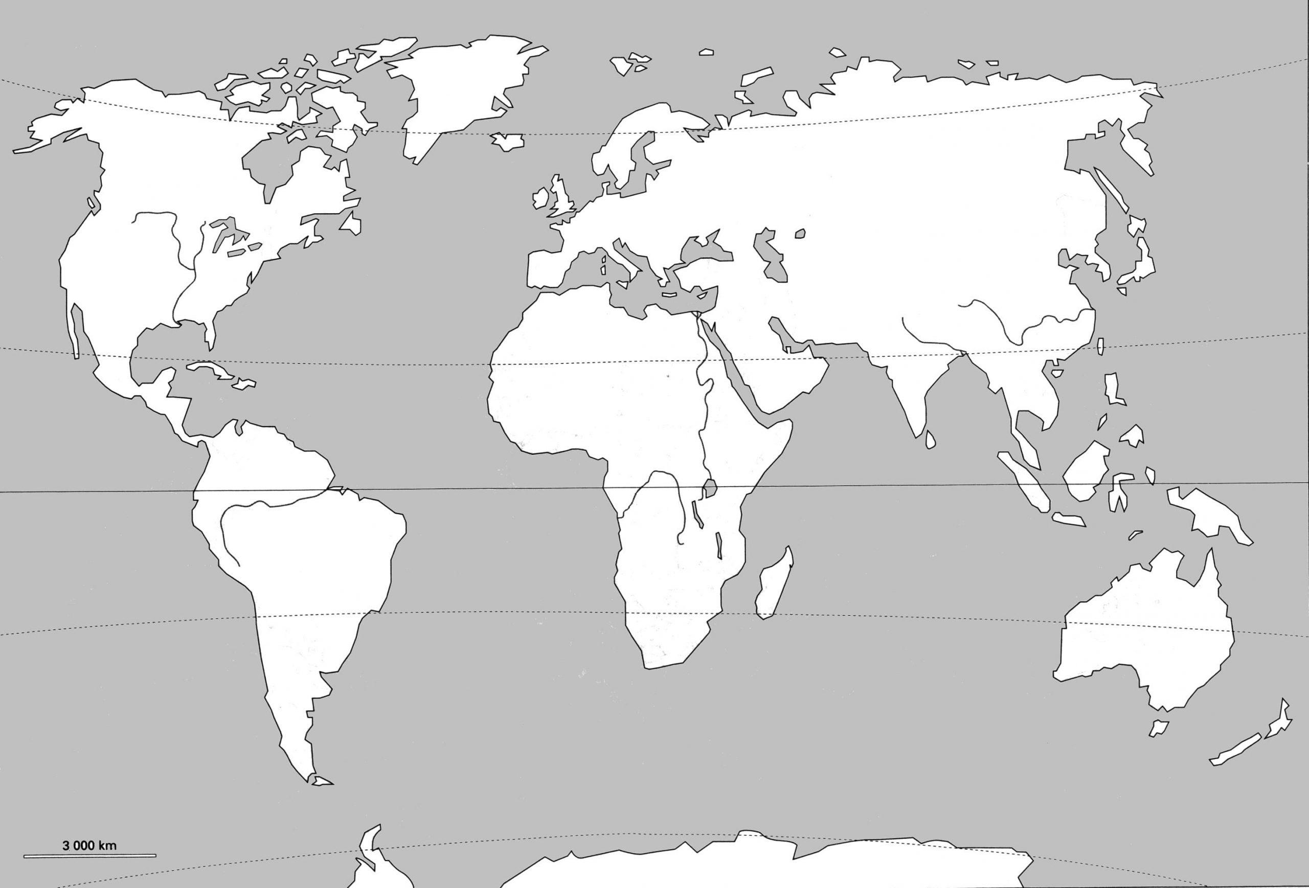 Cartes Du Monde Par Rapport À Carte Du Monde Vierge À tout Carte Vierge À Imprimer