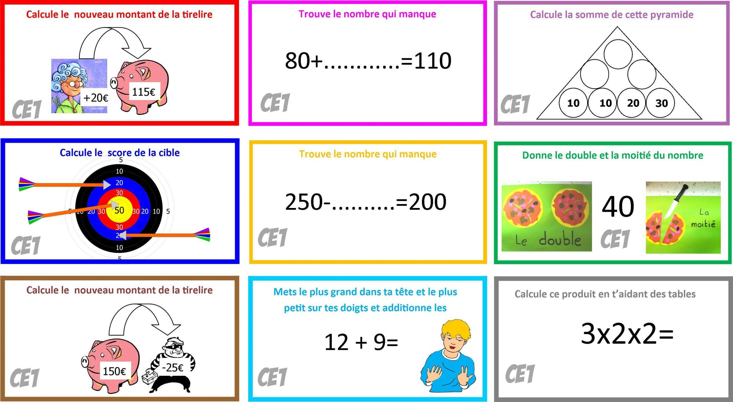 Cartes Himathslaya 2 (Avec Images) | Jeux De Calcul Mental tout Jeux De Maths Facile