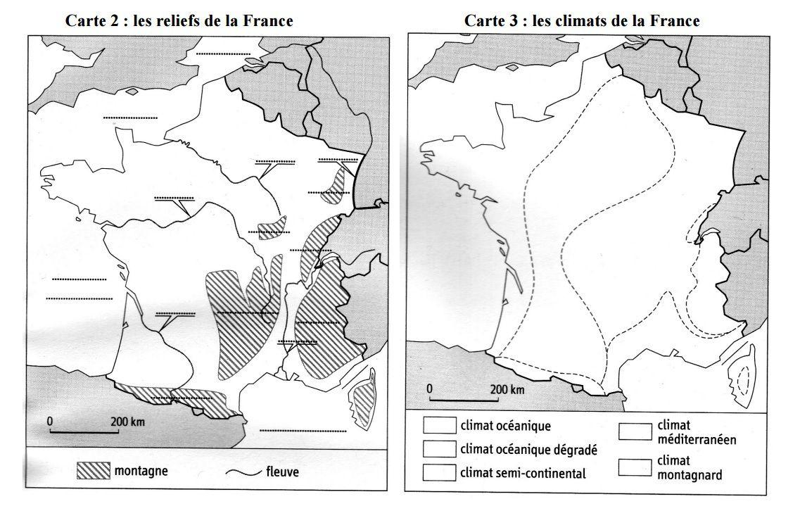Cartes Muettes De La France À Imprimer - Chroniques pour Carte De France Vierge A Imprimer