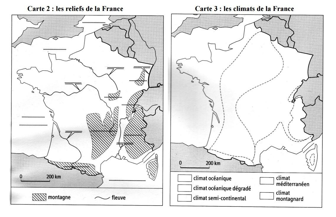 Cartes Muettes De La France À Imprimer - Chroniques pour Fond De Carte France Fleuves
