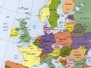 Cartograf.fr : Les Cartes Des Continents : L'europe avec Pays D Europe Et Capitales