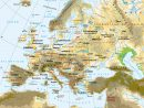 Cartograf.fr : Les Cartes Des Continents : L'europe pour Carte De L Europe En Relief