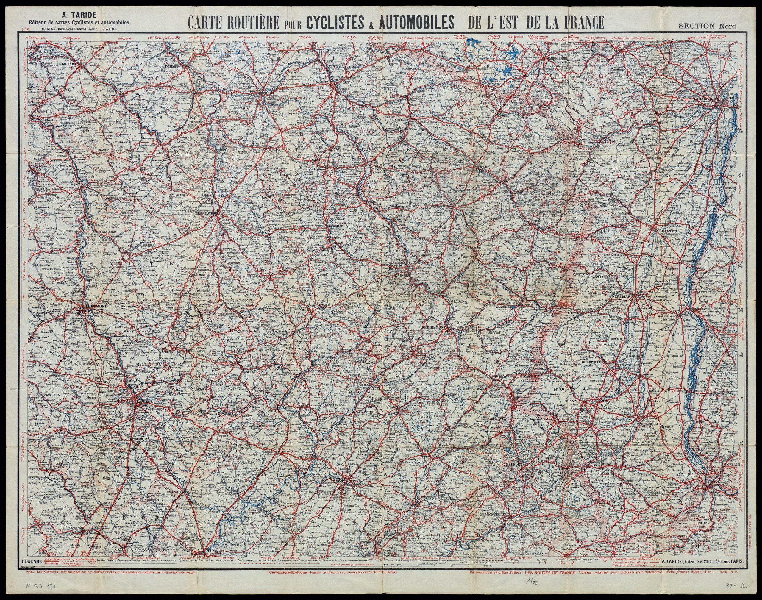 Cartograf.fr : Les Régions De France : La Lorraine : Page 3 tout Carte Du Sud De La France Détaillée