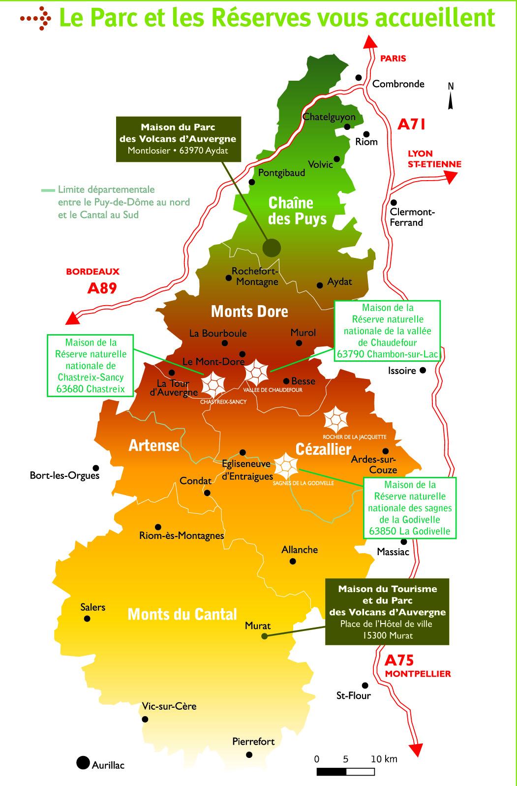 Cartograf.fr : Les Régions De France : L'auvergne : Page 2 destiné Carte De France Dom Tom