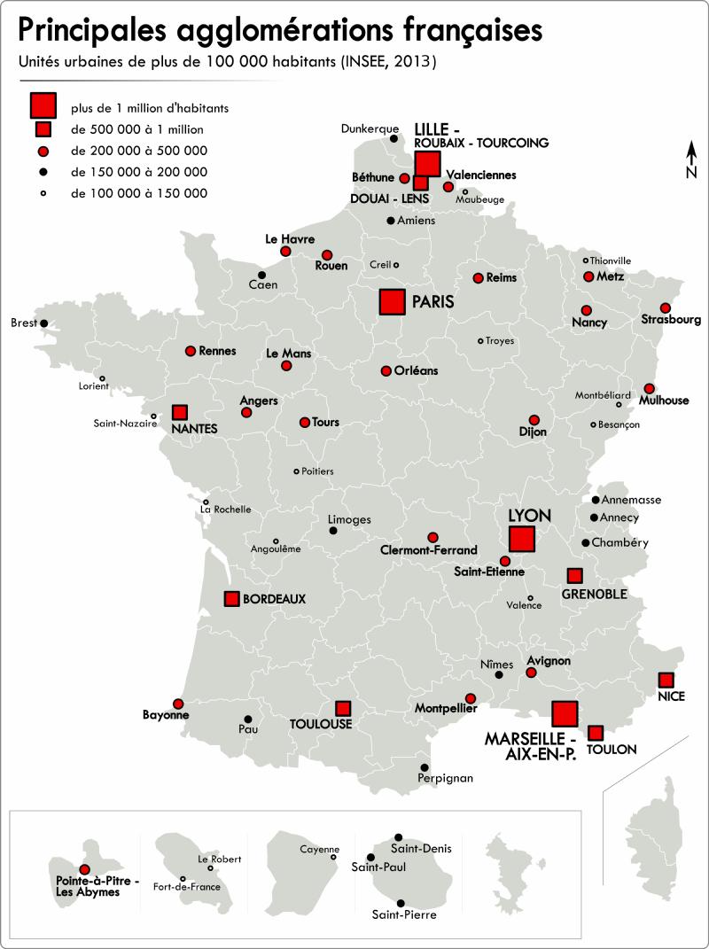Cartographie Numérique: La Carte Du Monde Des Villes De Plus encequiconcerne Placer Des Villes Sur Une Carte