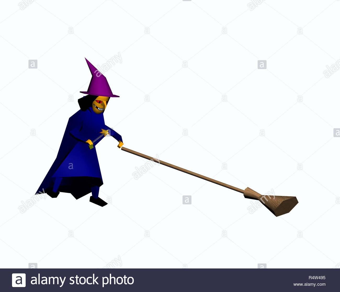 Cartoon Witch Photos & Cartoon Witch Images - Page 4 - Alamy avec Image De Sorcière Gratuite